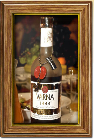Varna 1444 (semi sweet red wine)